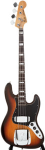 Musical Instruments:Electric Guitars, 1978 Fender Jazz Bass Sunburst Electric Bass Guitar, #S 858059....