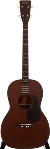 Musical Instruments:Acoustic Guitars, 1953 Martin 5-15T Natural Acoustic Tenor Guitar, #133293....