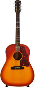 Musical Instruments:Acoustic Guitars, 1964 Gibson J-45 Sunburst Acoustic Guitar, #159890....