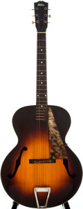 Musical Instruments:Acoustic Guitars, 1942 Gibson L-4 Sunburst Archtop Acoustic Guitar, #7735H....