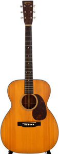 Musical Instruments:Acoustic Guitars, 1939 Martin 000-18 Natural Acoustic Guitar, #72895....