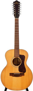 Musical Instruments:Acoustic Guitars, 1973 Guild F-112 Natural 12-String Acoustic Guitar, #76381....