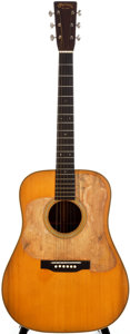 Musical Instruments:Acoustic Guitars, 1935 Martin D-28 Natural Acoustic Guitar, #59257....