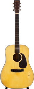 Musical Instruments:Acoustic Guitars, 1942 Martin D-18 Natural Acoustic Guitar, #82035....