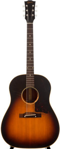 Musical Instruments:Acoustic Guitars, 1956 Gibson J-45 Sunburst Acoustic Guitar, #V6297....