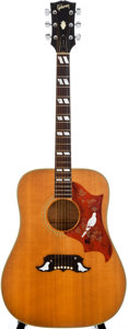 Musical Instruments:Acoustic Guitars, 1973/75 Gibson Dove Natural Acoustic Guitar, #870607....