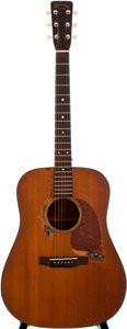 Musical Instruments:Acoustic Guitars, 1957 Martin D-18 Natural Acoustic Guitar, #154728....