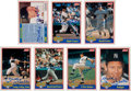 Autographs:Sports Cards, 1991 Mickey Mantle Signed Limited Edition Seven-Card Set....
