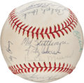 Autographs:Baseballs, 1972 New York Yankees Team Signed Baseball....
