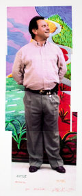 Post-War & Contemporary:Contemporary, DAVID HOCKNEY (British, b. 1937). Untitled, 1991. Colorlaser-print collage (in 5 sheets). 30 x 11-1/2 inches (76.2 x 29...
