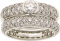 Estate Jewelry:Rings, Diamond, Platinum Ring Set, Tiffany & Co.. ...