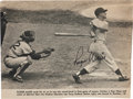 Baseball Collectibles:Photos, 1962 Roger Maris Signed Magazine Photograph....