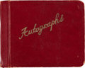 Football Collectibles:Others, 1957-59 Green Bay Packers Team Signed Autograph Book (52 Signatures) - With Len Ford and 1st Year Vince Lombardi Examples!...