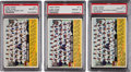 Baseball Cards:Lots, 1956 Topps Chicago Cubs PSA-NM-MT 8 Trio (3) - All ThreeVariations! ...