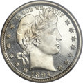 Proof Barber Quarters, 1894 25C PR66 Cameo PCGS....