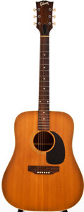 Musical Instruments:Acoustic Guitars, 1968 Gibson J-50 Natural Acoustic Guitar, #956771....