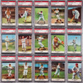 "Baseball Cards:Sets, 1961 Golden Press ""Baseball Hall of Fame"" Complete Set (33) - #24on the PSA Set Registry...."
