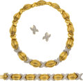 Estate Jewelry:Suites, Diamond, Gold Jewelry Suite, TURI. ...