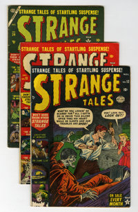 Strange Tales Group (Atlas, 1952-55) Condition: Average VG.... (Total: 4 Comic Books)