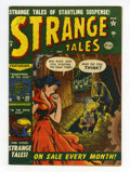 Golden Age (1938-1955):Horror, Strange Tales #8 (Atlas, 1952) Condition: VG....
