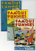 Golden Age (1938-1955):Miscellaneous, Famous Funnies Group (Eastern Color, 1944-46).... (Total: 10 Comic Books)