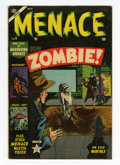 Golden Age (1938-1955):Horror, Menace #5 (Atlas, 1953) Condition: VG+....