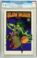 Bronze Age (1970-1979):Alternative/Underground, Slow Death #1 Second Printing (Last Gasp, 1970) CGC FN/VF 7.0 Off-white pages....