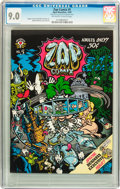 Silver Age (1956-1969):Alternative/Underground, Zap Comix #5 First Printing (Apex Novelties, 1970) CGC VF/NM 9.0Off-white to white pages....