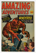 Silver Age (1956-1969):Horror, Amazing Adventures #5 (Marvel, 1961) Condition: VG/FN....