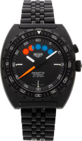 Timepieces:Wristwatch, Heuer Regatta Automatic With Five Minute Count Down Display. ...