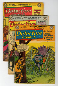 Detective Comics #203, 204, and 206 Group (DC, 1954) Condition: Average VG-.... (Total: 3 Comic Books)