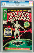 Silver Age (1956-1969):Superhero, The Silver Surfer #1 (Marvel, 1968) CGC VF/NM 9.0 Off-white pages....