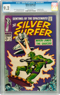 Silver Age (1956-1969):Superhero, The Silver Surfer #2 (Marvel, 1968) CGC NM- 9.2 Off-white to white pages....