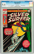 Bronze Age (1970-1979):Superhero, The Silver Surfer #14 (Marvel, 1970) CGC NM 9.4 Off-white pages....