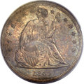 Seated Dollars, 1840 $1 MS62 PCGS....