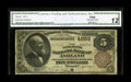 National Bank Notes:Kentucky, Ashland, KY - $5 1882 Brown Back Fr. 472 The Merchants NB Ch. #4559. From our sale of the Bill Gale collection where th...
