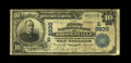 National Bank Notes:Kentucky, Brooksville, KY - $10 1902 Date Back Fr. 618 The First NB Ch. #(S)8830. This is a just plain rare bank in large size, w...