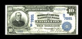 National Bank Notes:Kentucky, Cannel City, KY - $10 1902 Date Back Fr. 617 The Morgan County NBCh. # (S)7891. This gorgeous Third Charter Date Back $...