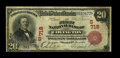 National Bank Notes:Kentucky, Covington, KY - $20 1902 Red Seal Fr. 639 The First NB Ch. #(S)718. This Fine $20 Red Seal is the only note of its ...