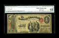 National Bank Notes:Kentucky, Henderson, KY - $1 Original Fr. 380 The Henderson NB Ch. # 1615.This is one of only two early notes known from this ban...