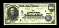 National Bank Notes:Kentucky, Henderson, KY - $100 1902 Date Back Fr. 690 The Henderson NB Ch. #(S)1615. This note first appeared as part of a 1986 H...
