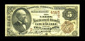 National Bank Notes:Kentucky, Louisville, KY - $5 1882 Brown Back Fr. 471 The Union NB Ch. #(S)4145. A Fine $5 Brown Back with a real vanity sign...