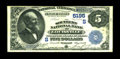 National Bank Notes:Kentucky, Louisville, KY - $5 1882 Date Back Fr. 537 The Southern NB Ch. #(S)5195. A still quite crisp Fine+ $5 Date Back fro...