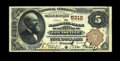 National Bank Notes:Kentucky, Louisville, KY - $5 1882 Brown Back Fr. 477 The NB of Kentucky Ch.# 5312. An appealing $5 Brown Back with bold signatur...