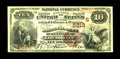 National Bank Notes:Kentucky, Louisville, KY - $10 1882 Brown Back Fr. 490 The NB of Kentucky Ch.# (S)5312. While this is certainly not a scarce bank...