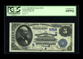 National Bank Notes:Kentucky, Louisville, KY - $5 1882 Date Back Fr. 537 The NB of Kentucky Ch. #(S)5312. This PCGS Extremely Fine 45PPQ is stunn...