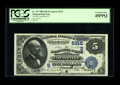 National Bank Notes:Kentucky, Louisville, KY - $5 1882 Date Back Fr. 537 The NB of Kentucky Ch. #(S)5312. A second PCGS Extremely Fine 45PPQ whos...