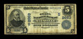 National Bank Notes:Kentucky, Maysville, KY - $5 1902 Date Back Fr. 590 The State NB Ch. #(S)2663. A problem free for the grade Fine note from Ma...