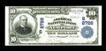 National Bank Notes:Kentucky, Newport, KY - $10 1902 Plain Back Fr. 632 The American NB Ch. #(S)2726. Large size $10's and $20's were issued with the...