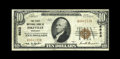 National Bank Notes:Kentucky, Pikeville, KY - $10 1929 Ty. 1 The First NB Ch. # 6622. The edgesare intact and bank title embossing remains on this br...